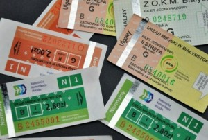 Билеты на общественный транспорт