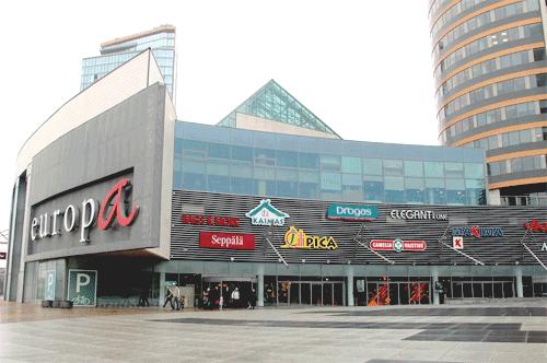 Торговый центр EUROPA (Вильнюс)