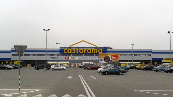Строительный гипермаркет Castorama в Белостоке