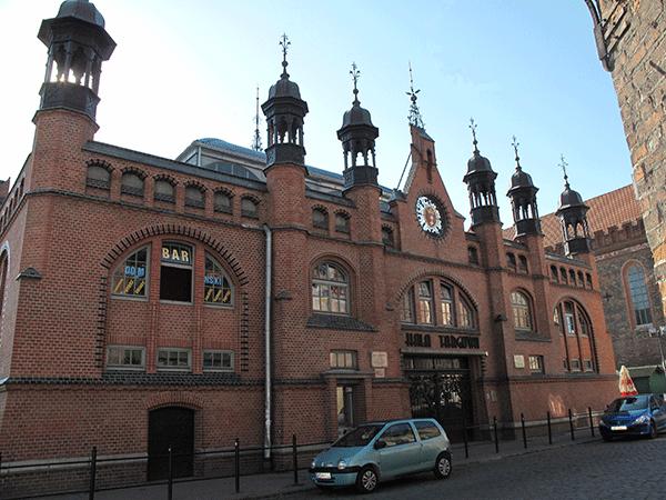 Крытый рынок в Гданьске